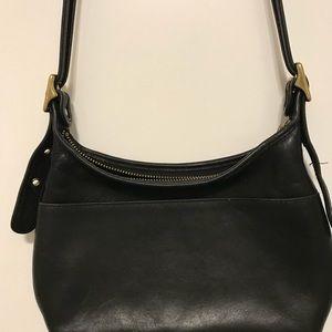 Coach Leather Long Strap Handbag
